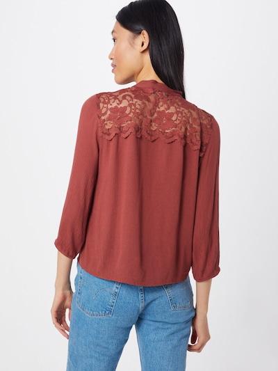 ONLY Bluse 'RHETT' in rot, Modelansicht