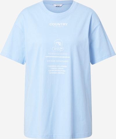 Envii Shirt in blau / weiß, Produktansicht