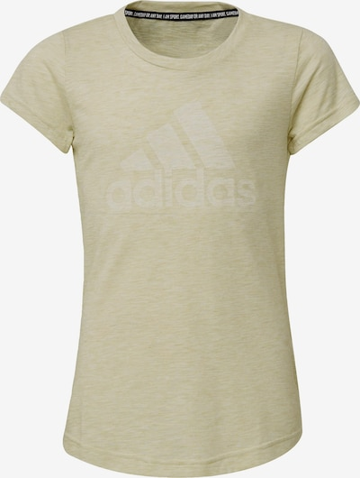 ADIDAS PERFORMANCE Shirt in hellgelb, Produktansicht