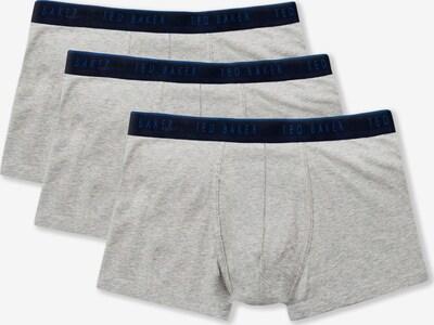 Ted Baker Boxershorts in de kleur Blauw / Grijs gemêleerd / Zwart, Productweergave