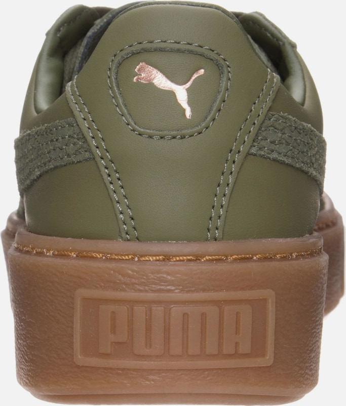 PUMA Basket Platform Euphoria Gum Sneaker Damen
