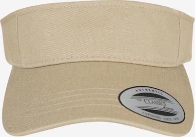 Flexfit Snapback 'Curved Visor' in beige, Produktansicht