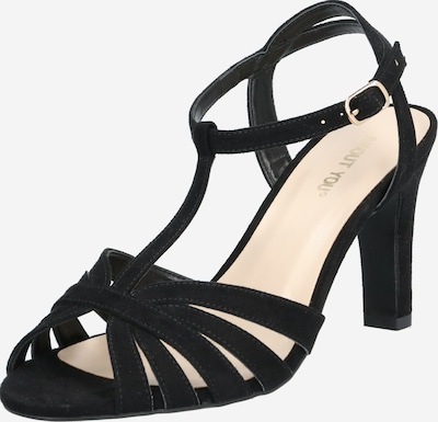 ABOUT YOU Strap sandal 'Sienna Shoe' in Black, Item view
