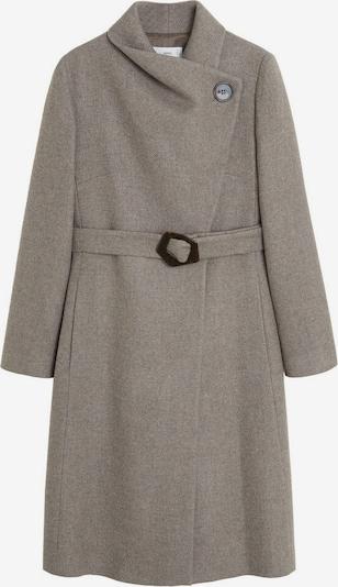 MANGO Manteau mi-saison 'Venus 6' en brun foncé / gris, Vue avec produit