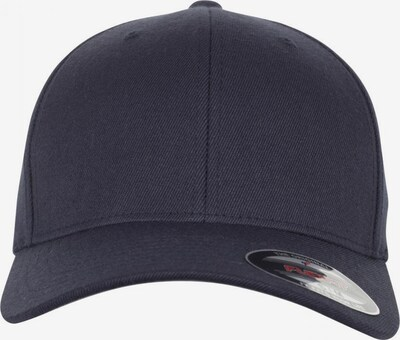 Flexfit Cap 'Wool Blend' in dunkelblau, Produktansicht