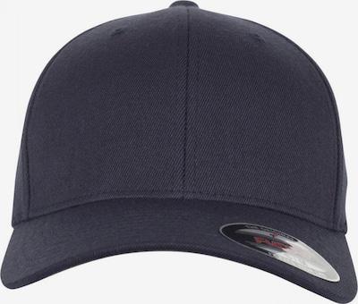 Flexfit Cap 'Wool Blend' in dunkelblau: Frontalansicht
