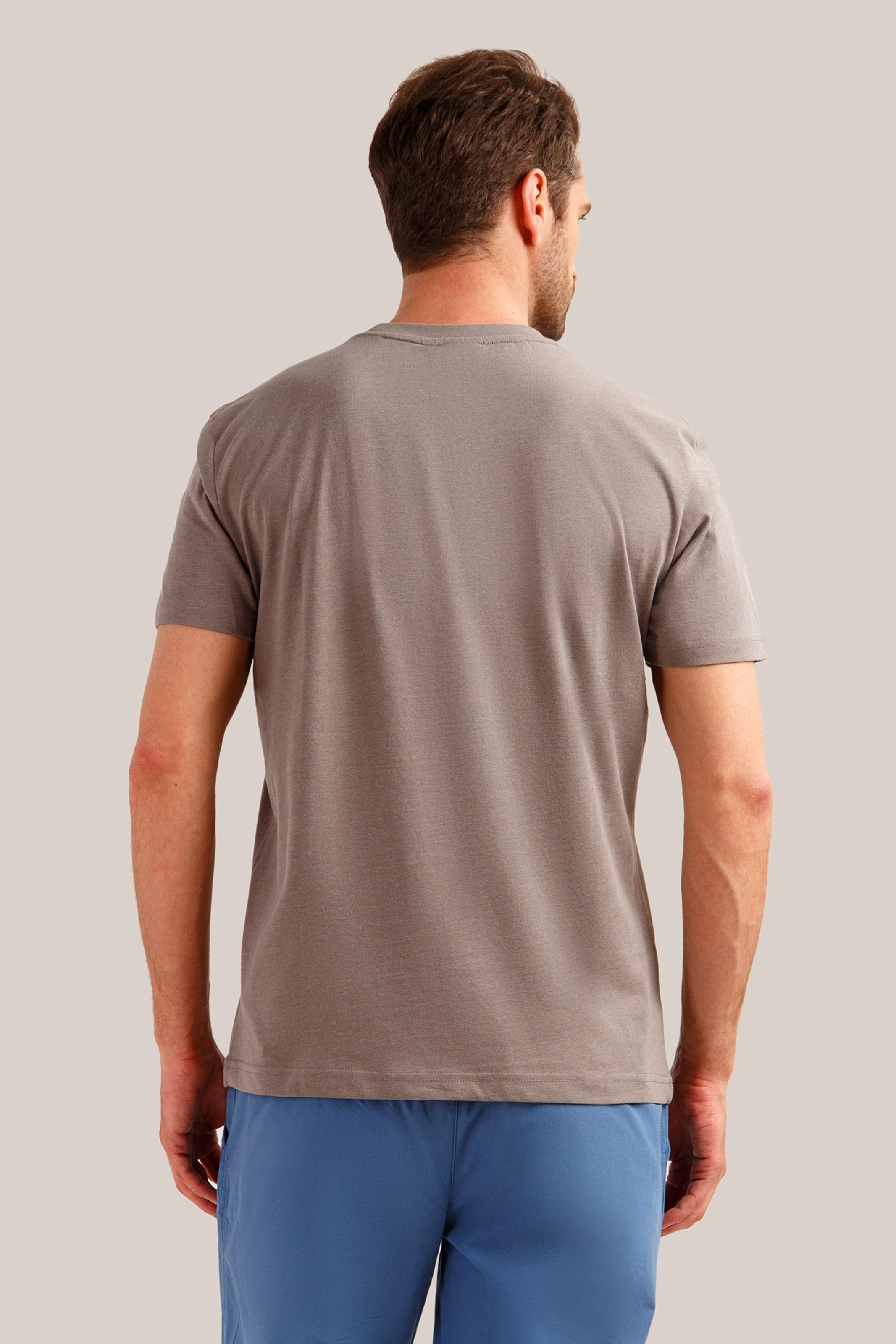 Basic shirt Braun Klassischem Design Finn Flare In vm80Nnw