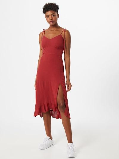 Abercrombie & Fitch Šaty - rezavě červená, Model/ka