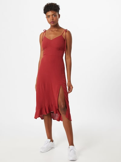 Abercrombie & Fitch Kleid in rostrot, Modelansicht