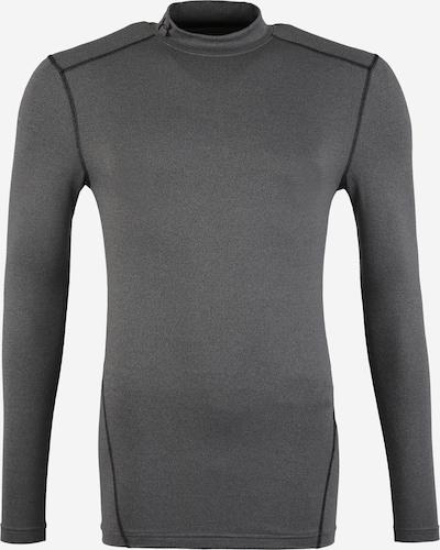 UNDER ARMOUR Functioneel shirt in de kleur Donkergrijs / Zwart, Productweergave