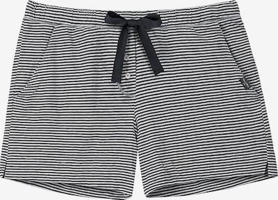 Marc O'Polo Pyjamahosen in schwarz / weiß, Produktansicht
