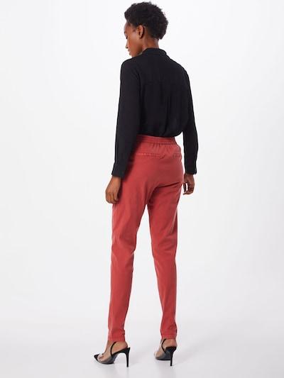 Kelnės 'BROOKLYN NR' iš Noisy may , spalva - oranžinė-raudona: Vaizdas iš galinės pusės