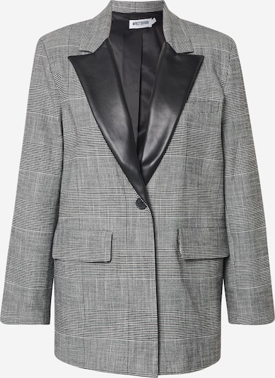 Worst Behavior Blazer in grau, Produktansicht