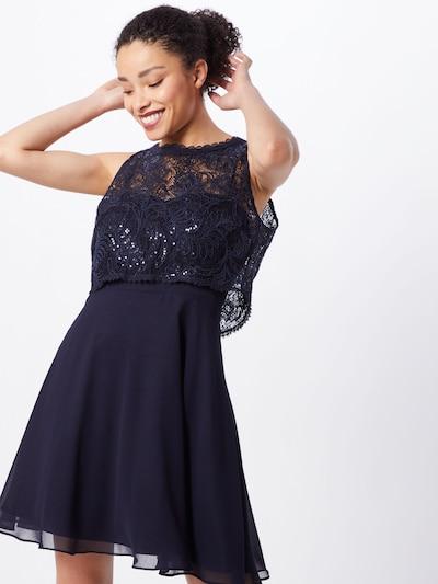 VM Vera Mont Kleid in nachtblau / dunkelblau, Modelansicht