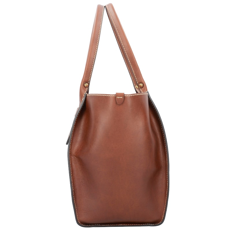 The Bridge Sartre Shopper Tasche Leder 30 cm