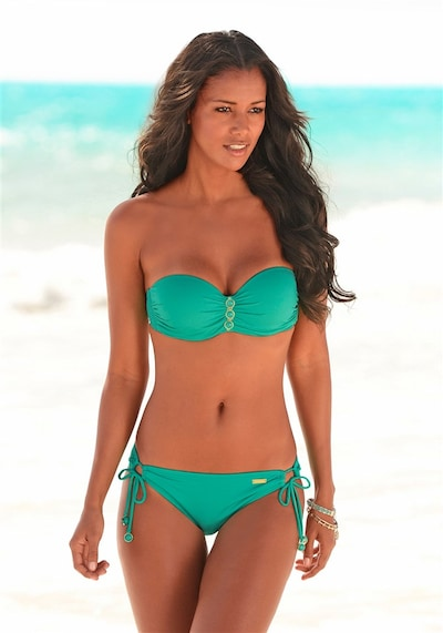 LASCANA Bikini en menthe, Vue avec modèle