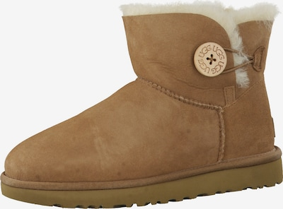 UGG Snowboots 'Mini Bailey Button' in de kleur Lichtbruin, Productweergave