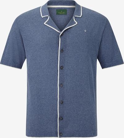 Charles Colby Poloshirt ' Earl Steve ' in blau, Produktansicht