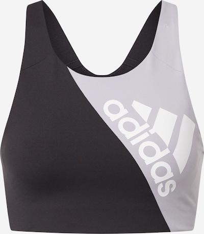 ADIDAS PERFORMANCE Sporta krūšturis melns, Preces skats