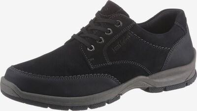 JOSEF SEIBEL Schnürschuh 'Lenny' in grau / schwarz, Produktansicht