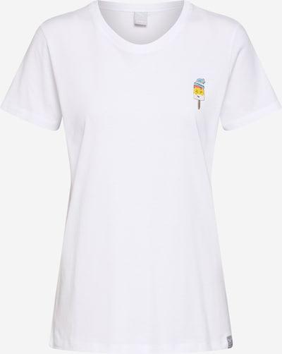 Marškinėliai 'Ice Beanie Tee' iš Iriedaily , spalva - balta: Vaizdas iš priekio