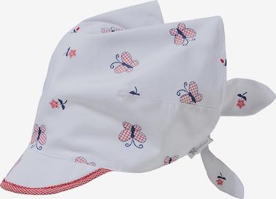 STERNTALER Kopftuch in blau / rot / weiß, Produktansicht