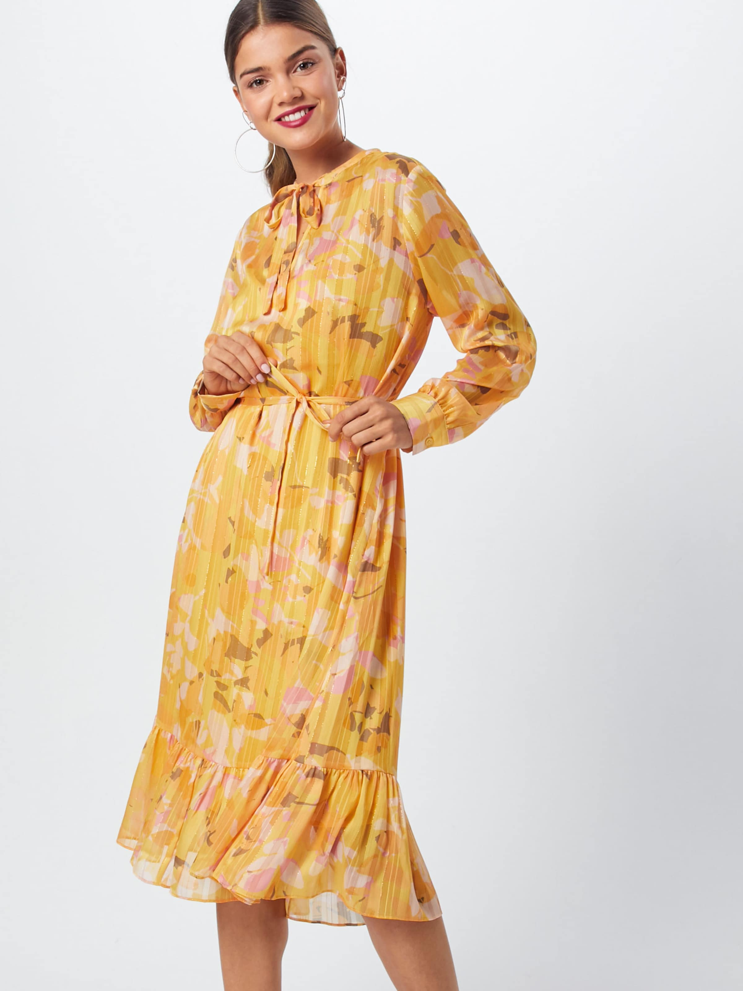 Second Female Robe D'été En Jaune wn0OPk