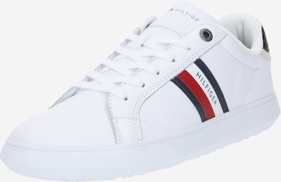 TOMMY HILFIGER Sneakers laag 'Cupsole' in de kleur Kobaltblauw / Rood / Wit, Productweergave