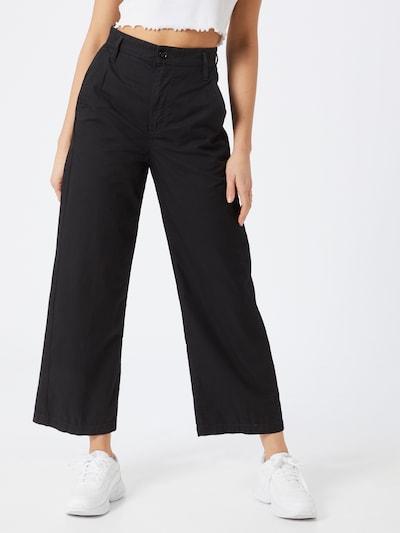 G-Star RAW Lærredsbukser 'Vitrif' i sort, Modelvisning