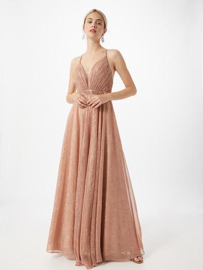 LUXUAR Kleid in rosegold, Modelansicht