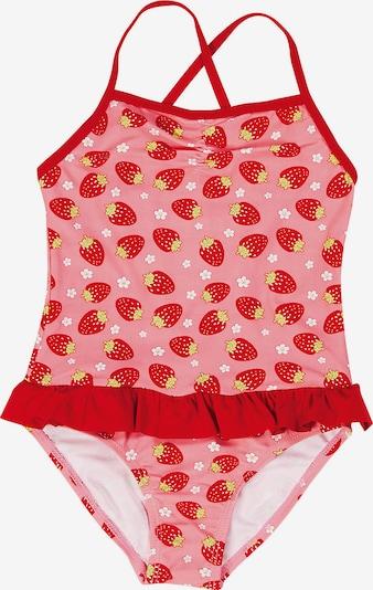 PLAYSHOES Badeanzug mit UV-Schutz 50+ in rot, Produktansicht