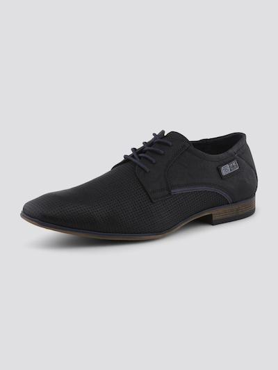 TOM TAILOR Schuhe in dunkelblau / schwarz, Produktansicht