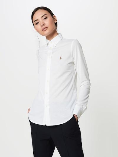 POLO RALPH LAUREN Bluzka 'HEIDI' w kolorze białym: Widok z przodu