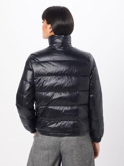LEVI'S Winterjas 'FRANCINE DOWN PACKABLE JACKET' in de kleur Zwart: Achteraanzicht