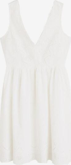 MANGO Robe d'été en blanc, Vue avec produit