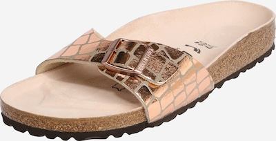 BIRKENSTOCK Muiltjes 'Madrid Gator Gleam' in de kleur Bruin / Brons, Productweergave