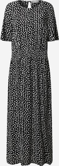 Dorothy Perkins (Tall) Obleka 'Tall Shirred Waist Midi Dress' | črna barva, Prikaz izdelka
