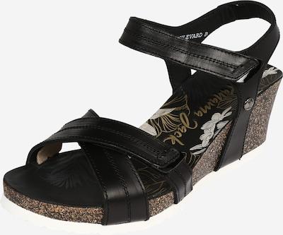 PANAMA JACK Sandalen met riem 'Vieri Boulevard' in de kleur Zwart, Productweergave