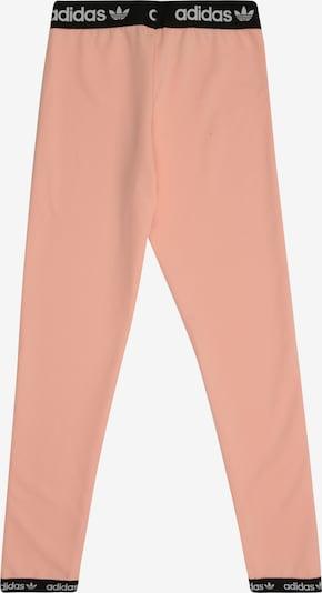 ADIDAS ORIGINALS Hosen 'POLY' in rosa / schwarz / weiß: Rückansicht