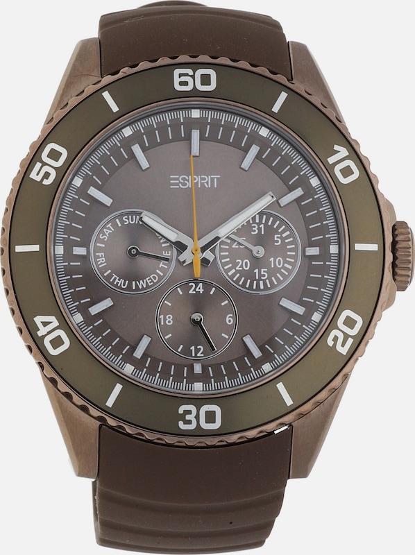ESPRIT Armbanduhr Deviate mit ausgefallenem Ziffernblatt ES103622007