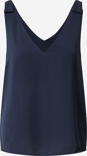 VILA Top 'VIJAHULA S/L TOP/SU/KI' in navy, Produktansicht