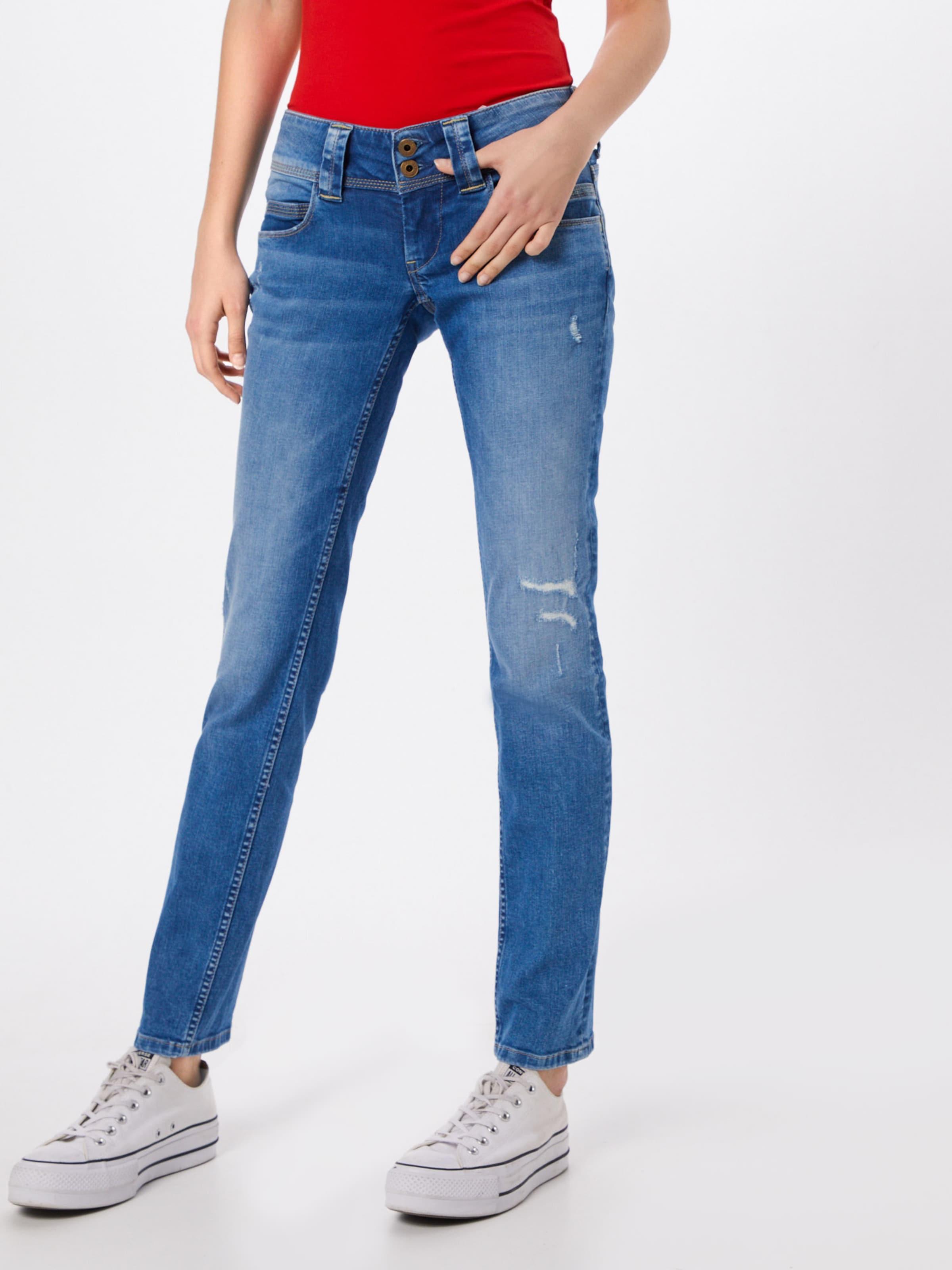 Denim Bleu Pepe Jean En Jeans 'venus' n0OkwP