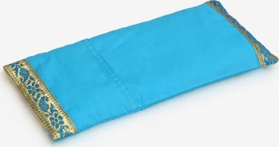 Yogishop Kissen in aqua / gold, Produktansicht