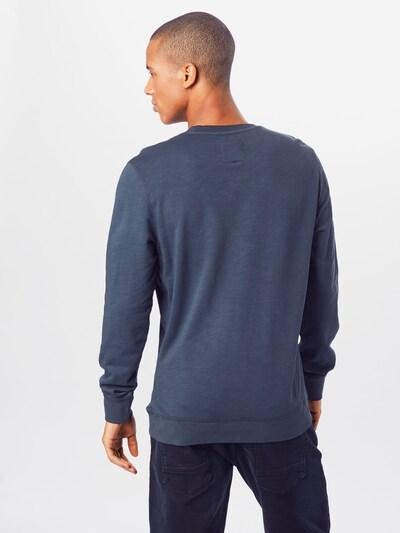 TOM TAILOR Sweatshirt in dunkelblau: Rückansicht