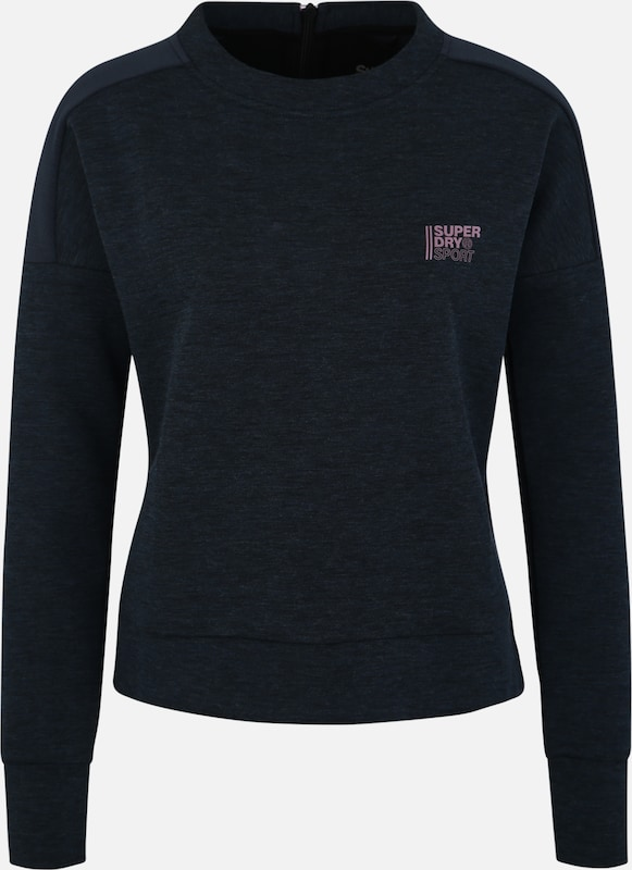 Superdry Sportief sweatshirt in de kleur Petrol, Productweergave