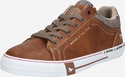 MUSTANG Sneaker in karamell: Frontalansicht