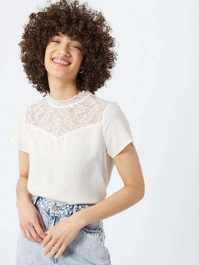 Bluză 'FIRST' ONLY pe offwhite, Vizualizare model
