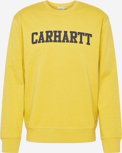 Carhartt WIP Sweat-shirt 'College' en jaune, Vue avec produit