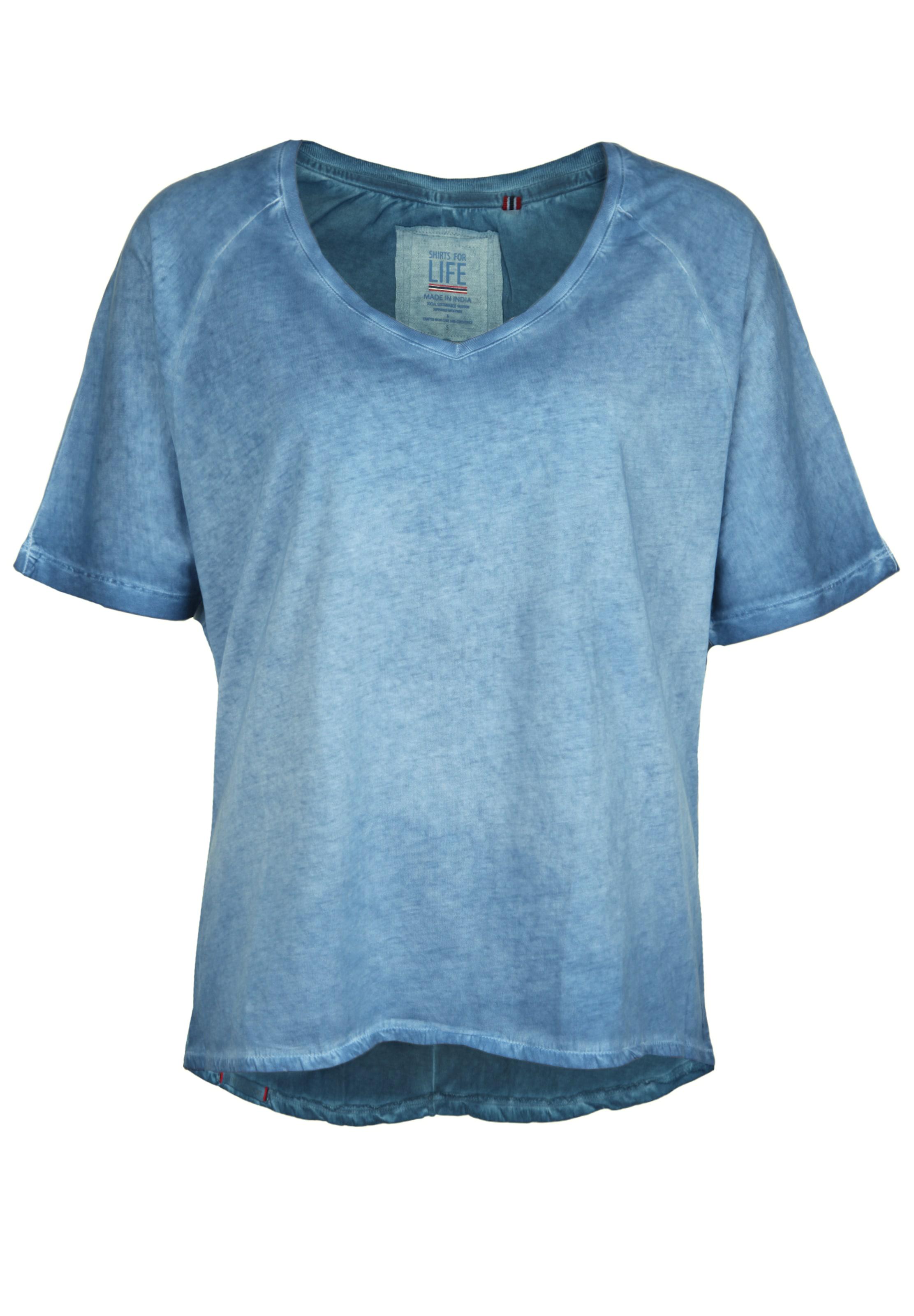 Shirts 'larissa' T Life shirt Rauchblau In For 0kwZ8XNnOP