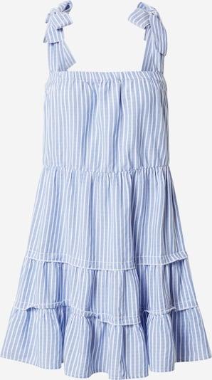 ONLY Šaty 'ONLGERRY' - modré / šedobiela: Pohľad spredu